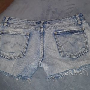 P&Y Denim Shorts - Shorts